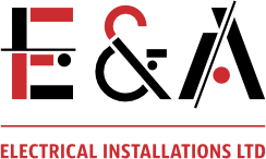 E & A Electrical Installations Logo